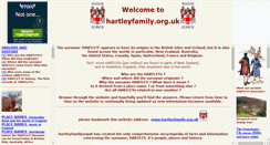 Preview of hartleyfamily.org.uk